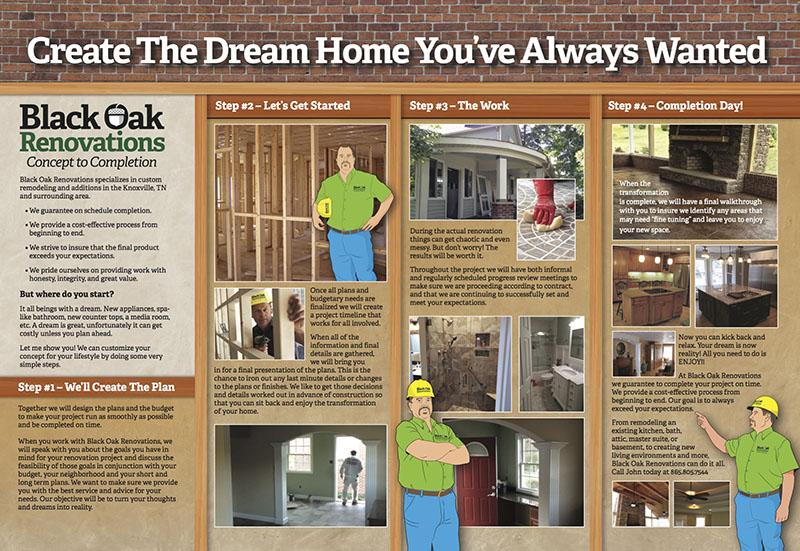 Black Oak Gatefold Brochure inside