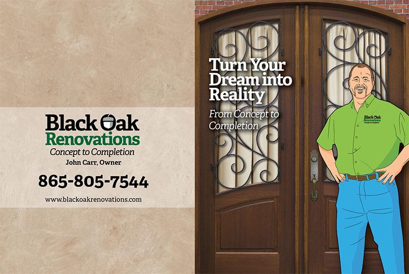 Black Oak Gatefold Brochure